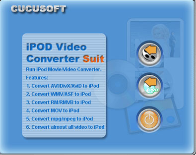 123 Cucusoft iPod Video Converter + DVD