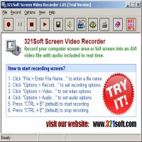 321Soft Screen Video Recorder tunny