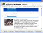 ACX Newsletter Designer pro