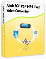 Allok 3GP PSP MP4 iPod Video Converter  (1)