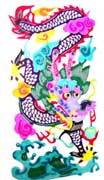 Chinese paper cut screensaver - Chinese Zodiac
