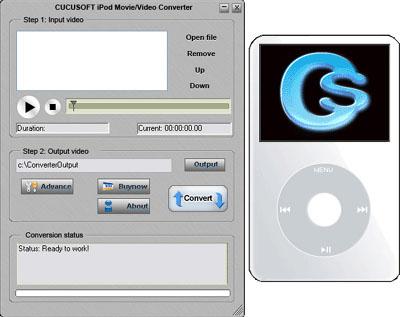 Cucusoft iPod Movie/Video Converter 08