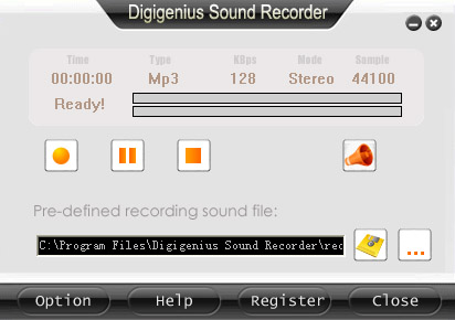DigiGenius Sound Recorder
