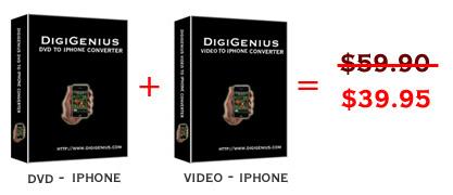 Digigenius DVD+video to iPhone Converter