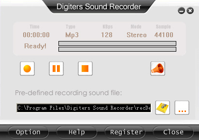 Digiters Sound Recorder