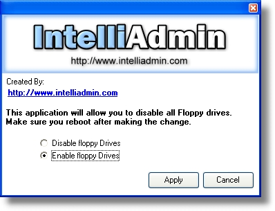 Floppy Drive Disabler