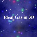 Ideal Gas in 3D