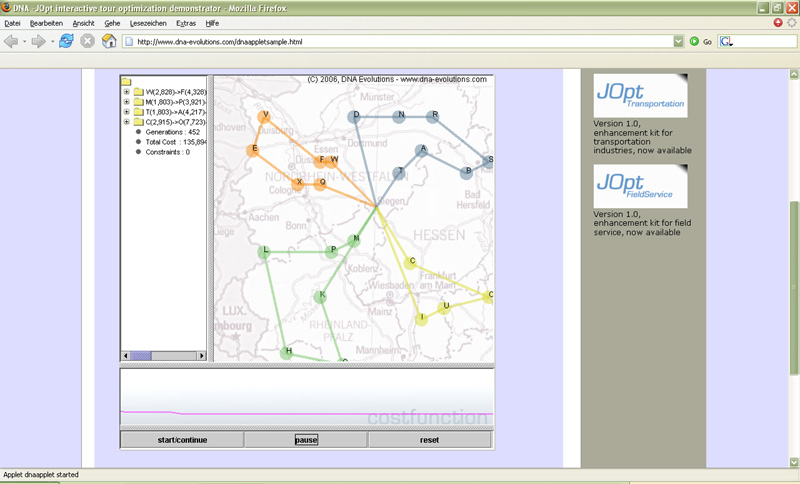 JOpt.SDK - vehicle routing library