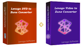 Lenogo DVD to Zune Converter + Video to Zune Powerpack