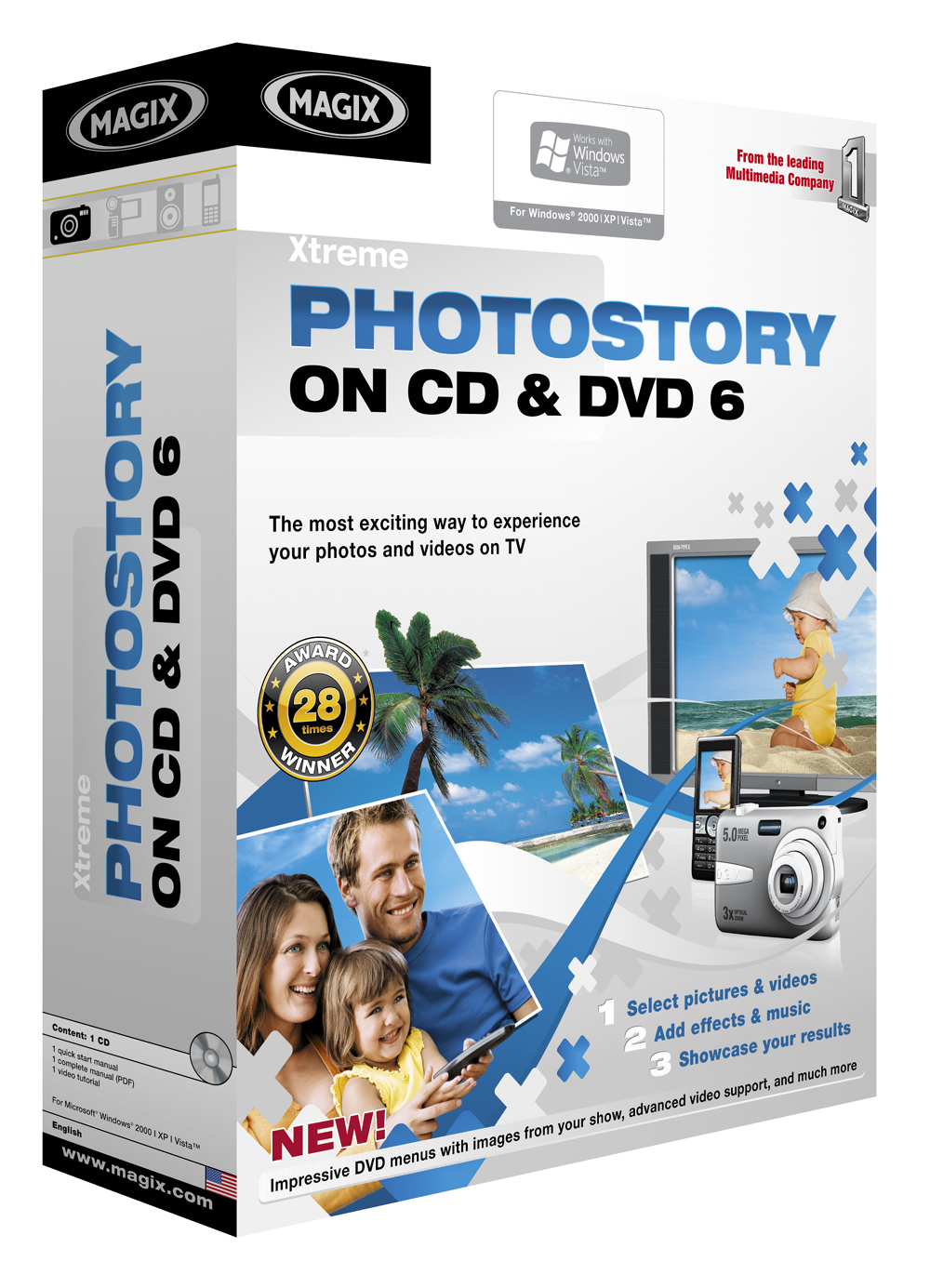 MAGIX Xtreme PhotoStory on CD & DVD