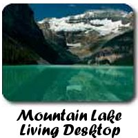 Mountain Lake Living Desktop for to mp4