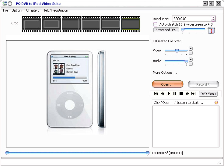 PQ DVD to iPod Video Converter Suite Build 88