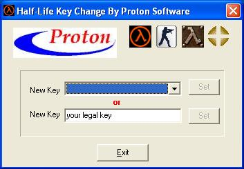 Proton Counter Strike Key Exchanger