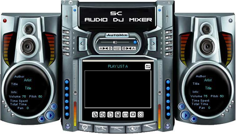 SC Free Audio DJ Mixer