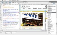 Adobe Dreamweaver CC 2014.0.4733 screenshot. Click to enlarge!