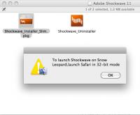 Adobe Shockwave Player 12.1.2.152 screenshot. Click to enlarge!