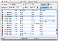 Angry IP Scanner 3.2.1 screenshot. Click to enlarge!