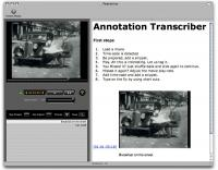 Annotation Transcriber 1.7.14 screenshot. Click to enlarge!