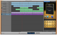 Apple GarageBand 10.0.1 screenshot. Click to enlarge!