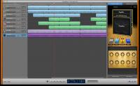 Apple GarageBand 10.0.1 screenshot. Click to enlarge!