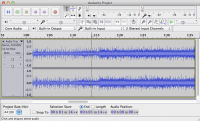 Audacity 2.0.5 screenshot. Click to enlarge!