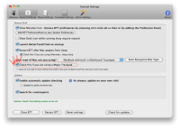 BetterTouchTool 0.9951 screenshot. Click to enlarge!