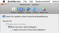 BookMacster 1.13.5 screenshot. Click to enlarge!