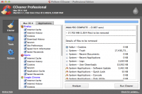 CCleaner 1.08.302 screenshot. Click to enlarge!
