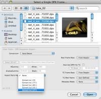 Cineon/DPX Toolkit 4.1.2926 screenshot. Click to enlarge!