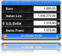 Currency Converter 2.0.2 screenshot. Click to enlarge!