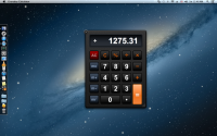 Everyday Calculator 1.0.3 screenshot. Click to enlarge!