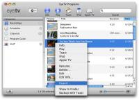 EyeTV 3.6.3 screenshot. Click to enlarge!