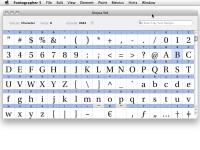 Fontographer 5.2.3.4868 screenshot. Click to enlarge!
