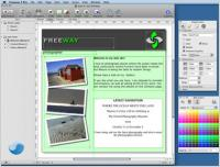 Freeway Pro 6.1.2 screenshot. Click to enlarge!