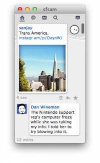 Itsy 2.1.10 screenshot. Click to enlarge!