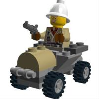 LEGO Digital Designer 4.3.8 screenshot. Click to enlarge!
