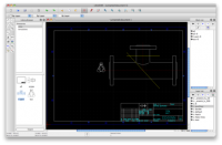 LibreCAD 2.0.4 screenshot. Click to enlarge!