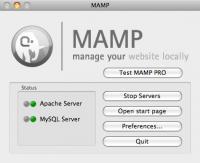 MAMP 3.0.2 screenshot. Click to enlarge!