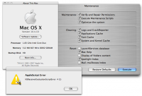 Maintenance 1.8.3 screenshot. Click to enlarge!