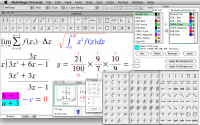 MathMagic Personal Edition 8.9 screenshot. Click to enlarge!