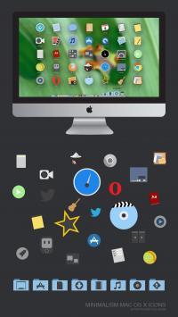 Minimalism Icons  screenshot. Click to enlarge!