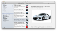 NetNewsWire 3.3.2 Build 3331 screenshot. Click to enlarge!