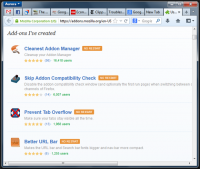 Prevent Tab Overflow 6.1 screenshot. Click to enlarge!
