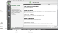 Qt Creator 3.1.2 screenshot. Click to enlarge!