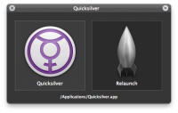Quicksilver 1.2.0.400B screenshot. Click to enlarge!