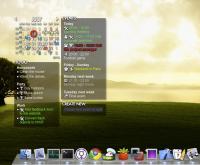 Rainlendar Pro 2.12.2138 screenshot. Click to enlarge!