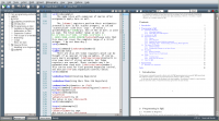 TeXMaker 4.3 screenshot. Click to enlarge!
