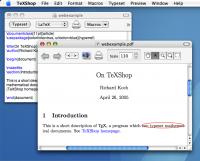 TeXShop 3.22 screenshot. Click to enlarge!