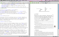 TeXworks 0.4.5 R 1280 screenshot. Click to enlarge!