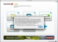 TomTom HOME 2.9.8.2330 screenshot. Click to enlarge!